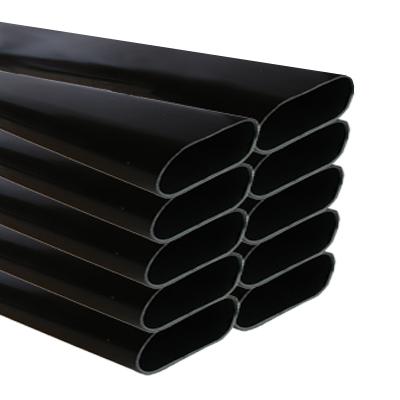 Tuyau spécial Aspiration centralisée ovale série SlimLine Vac par botte de 15 m  pour cloison 70 mm, SACH AI9101/1.5-SC