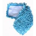 Mop Microfibre 44 x 13 cm Rasta Velcro - bleu