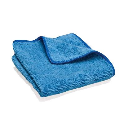 Microfibre classique bleue