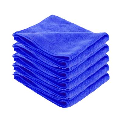 Microfibre SOFT entretien courant bleue par 5