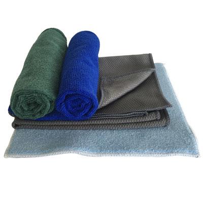 Lot de 4 microfibres pour nettoyage et dépoussiérage