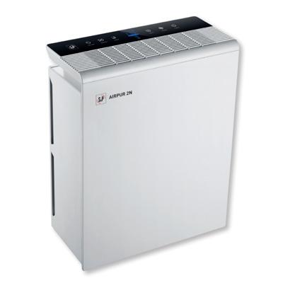 Purificateur d'air Unelvent Airpur 2N, pour des surfaces jusqu'à 50 m2, filtres à fibres, H13 et charbon actif, Unelvent 659673