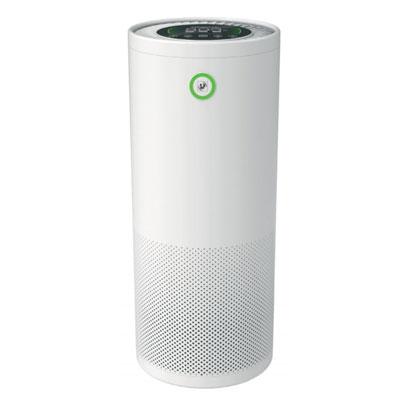 Purificateur d'air Unelvent Airpur 360°, pour des surfaces jusqu'à 50 m2, filtres F7, H13 et charbon actif + 1 lampe UV pour action virucide et bactéricide, Unelvent 659672