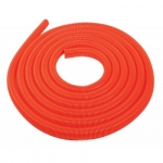 Flexible aspiration centralisée garage orange de 4 m