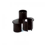 Porte accessoires noir clipsable sur canne
