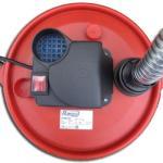 Bidon vide cendres chaudes CENEHOT SUR ROUES à moteur électrique 950W,18L pour aspirer les cendres chaudes des cheminées, des poêles à bois ou à granulés
