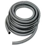 Flexible aspiration centralisée standard nu gris de 20 mètres