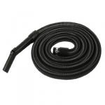 Flexible aspiration centralisée garage noir de 3 m