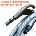 Flexible de 9 m à télécommande intégrée pour équipement non filaire type ALDES