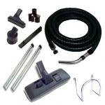 Set 7 accessoires + 1 flexible standard noir et gris 7m