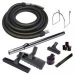 Set 8 accessoires + 1 flexible de 9 m standard noir et gris