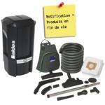 aspirateur central ALDES pack C.Power Garantie 2 ANS (jusqu'à 400 m²) + set de nettoyage, Aldes 11071102