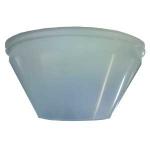 Cone plastique pour centrale vacuflo à filtre