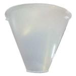 Cone plastique vacuflo sans filtre
