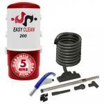 Aspirateur Central type ALDES, EASY-CLEAN 200 - Garantie 5 ans - Surface jusqu'à 180 m² - Set de nettoyage