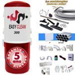 Aspiration centralisée  EASY-CLEAN 300 garantie 5 ans (jusqu'à 300 M²) + Set inter 9 M + 8 accessoires + kit 4 prises + kit prise balai + kit prise garage