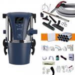 Aspiration centralisée AERTECNICA TX1A (jusqu'à 250 m²) - GARANTIE 3 ANS - Avec 1 trousse flexible à variateur 9m + 8 accessoires + kit 3 prises + kit prise balai + kit prise garage