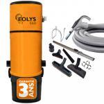 Aspiration centralisée EOLYS 550 (jusqu'à 500 m²) - Filtration avec ou sans sac + trousse on/off 9m + 8 access. + aspi-plumeau - Garantie 3 ans