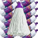 Boite de 24 Franges Microfibres 140g pour Balai Espagnol