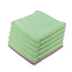 Microfibre Luxe entretien courant verte par 5