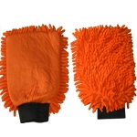 Gant microfibre orange 2 en 1